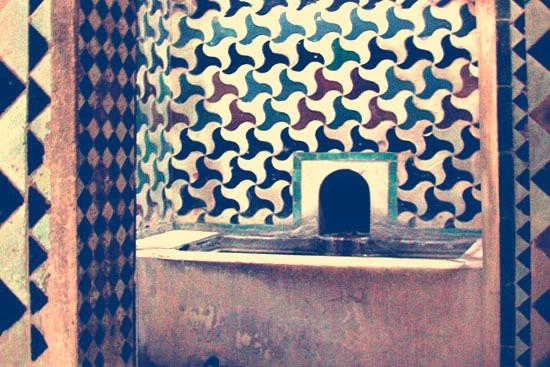 Sala Fría de los Baños Reales de la Alhambra