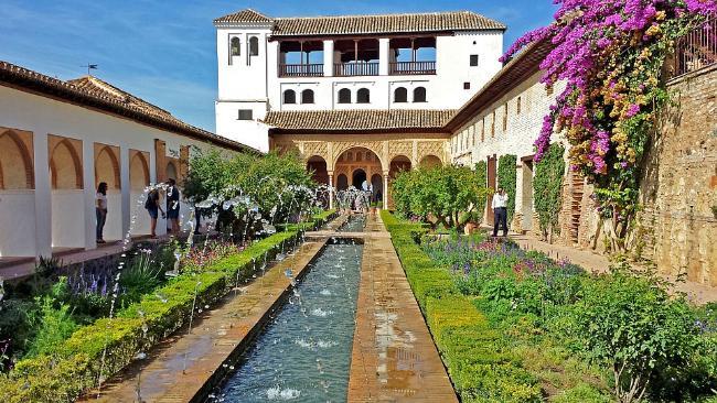 Los Jardines del Generalife de la Alhambra