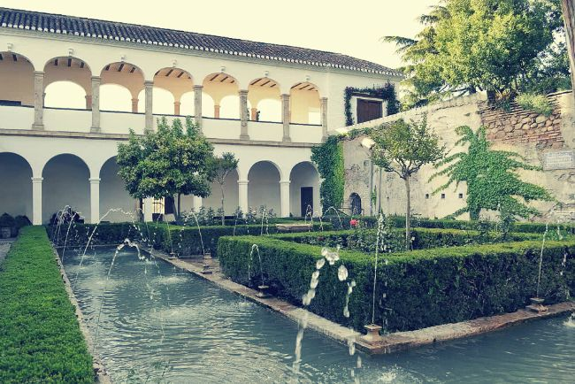 El Patio de la Sultana, Generalife, Alhambra