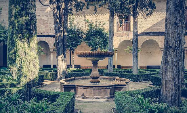 El Patio de Lindaraja, Alhambra