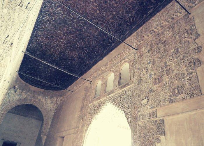 La Sala de la Barca en el Palacio de Comares, Alhambra