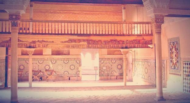 Interior de la Sala del Mexuar en la Alhambra