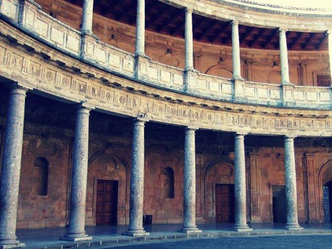 Interior del Palacio de Carlos V, Alhambra
