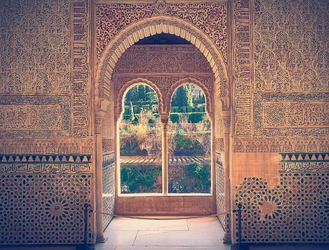 Interior de la Torre de la Cautiva, Alhambra
