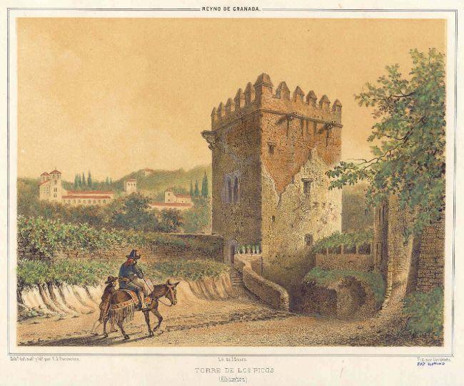 La Torre de los Picos, Alhambra